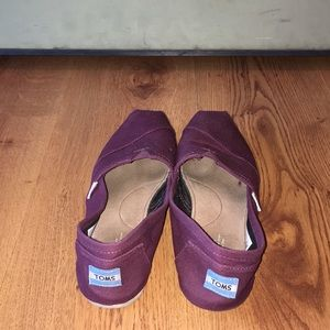 Toms Shoes - Toms purple size 10 W